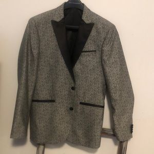 Kennith Cole Mens Tuxedo Jacket with Bow Tie